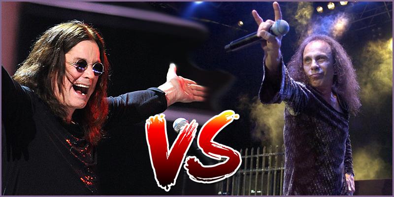 Duel de la semaine: Dio ou Ozzy en Solo? Dio