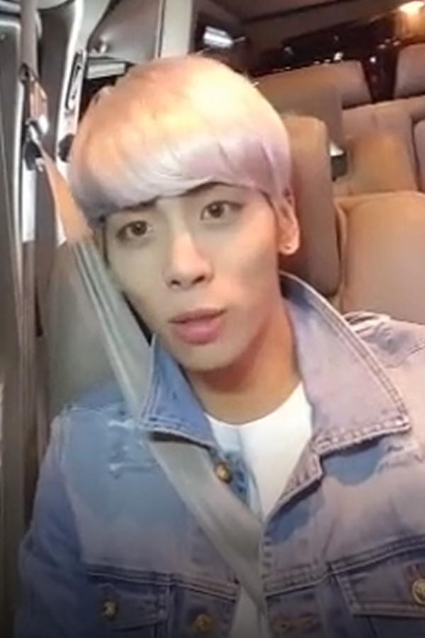 "Jonghyun ""End Of a Day"" Vlive"