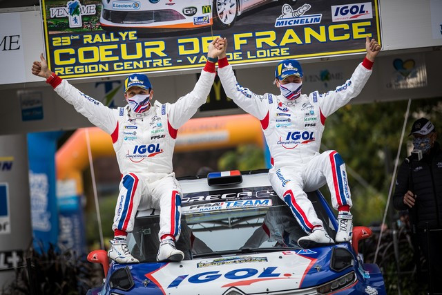 Doublé Pour C3 R5 En France Avec Yoann Bonato & Jean-Baptiste Franceschi Y-Bonato-CDF-20-23