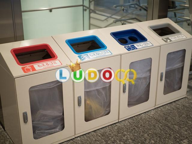 Ini Alasan Lubang Tempat Sampah di Jepang Terpisah Meski Jadi Satu