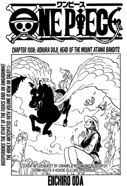 One Piece Chapter 1008 - Img 001