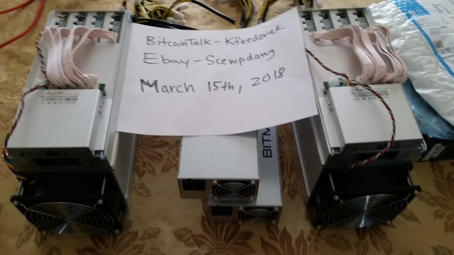 Antminer L3+ For Sale https://bitcointalk.org/index.php?topic=3054062.0;topicseen