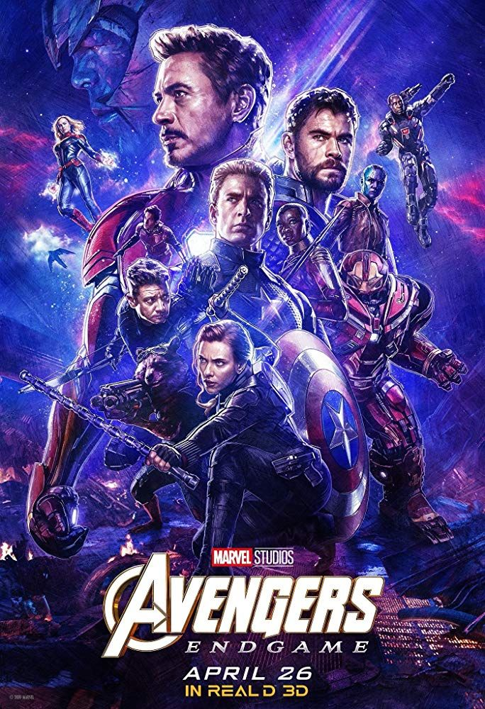Avengers Endgame (2019) Hindi Dubbed Movie HDRip 720p AAC