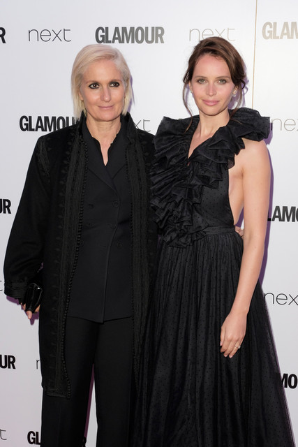 Felicity Jones attends Glamour Women of the Year Awards held at Berkeley Square Tuesday June 06 2017