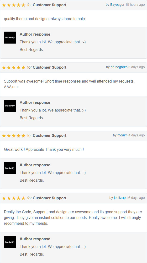 rating - Arlo - Personal / Portfolio / Resume Template Download