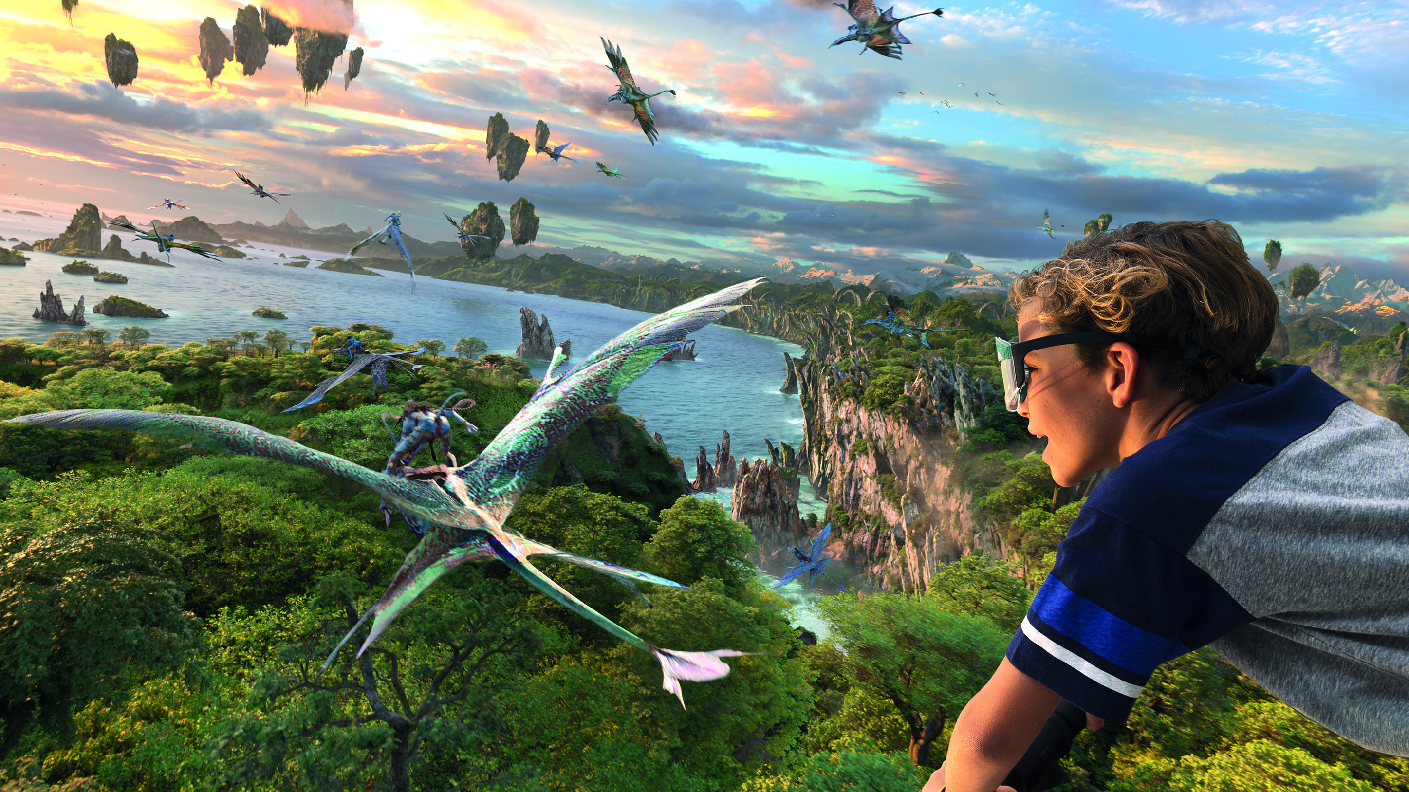 Avatar Flight of Passage at Walt Disney World Resort in Florida