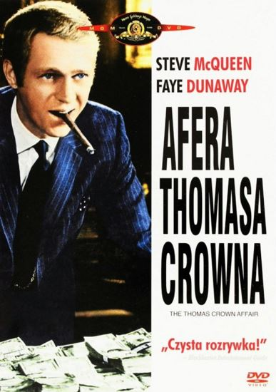 Afera Thomasa Crowna / The Thomas Crown Affair (1968) PL.AC3.DVDRip.XviD-GR4PE | Lektor PL