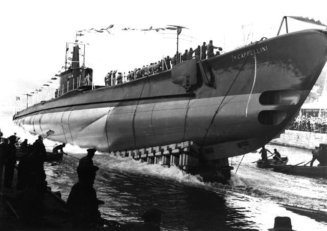 Un sommergibile italiano  Cappellini-Varo1qa