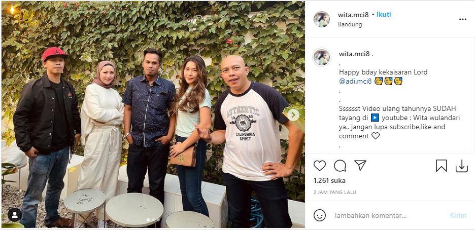 Kebersamaan kontestan MasterChef Indonesia Season 8 saat rayakan ulang tahun Lord Adi yang ke-42