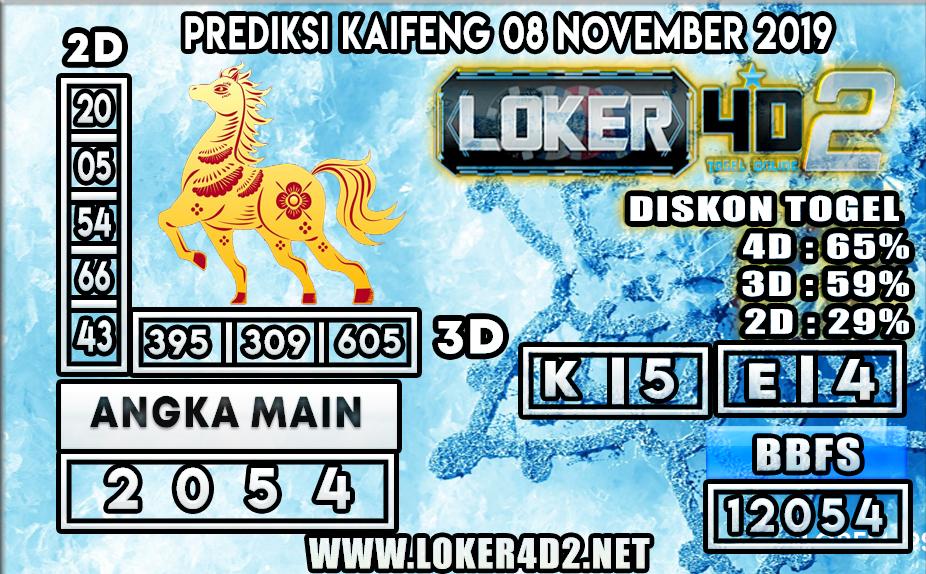 PREDIKSI TOGEL KAIFENG POOLS LOKER4D2 08 NOVEMBER 2019