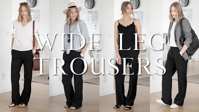 The Most Effective Method to Rock Wide-Legged Trousers