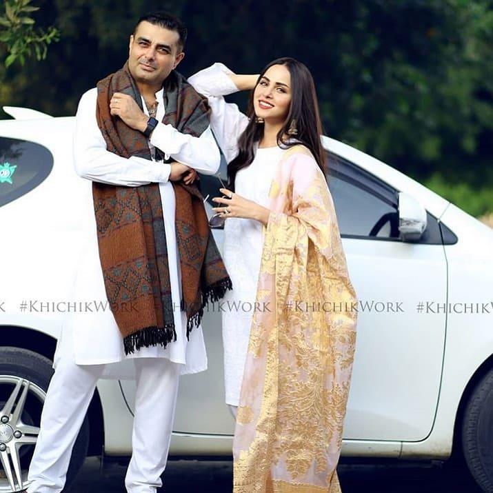 Nimra khan Just got Nikkahfied with Ifftekhar