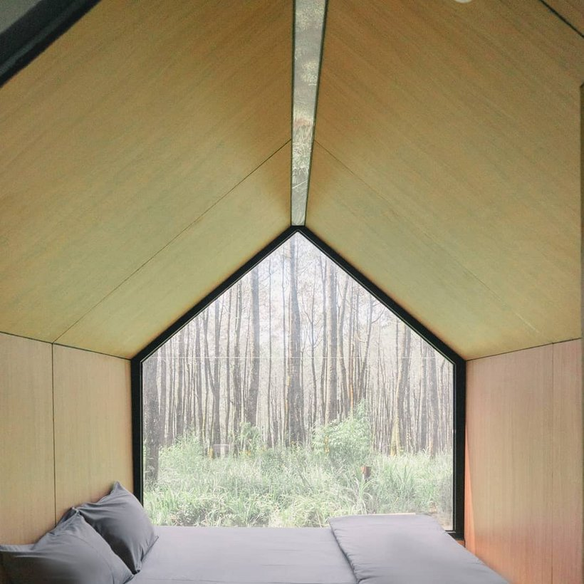 Cabin di Bobocabin Cikole