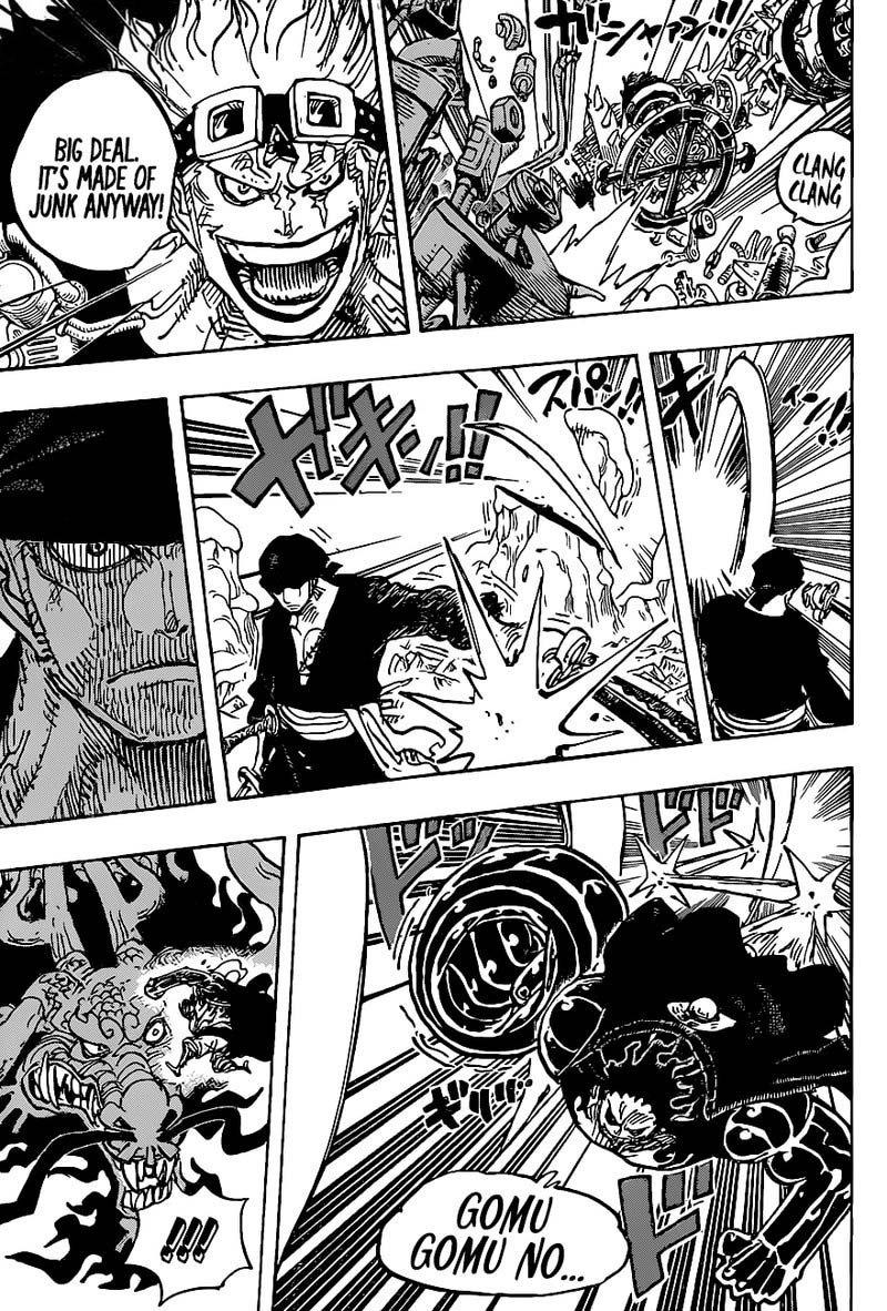 One Piece Manga Chapter 1002 - Img 003