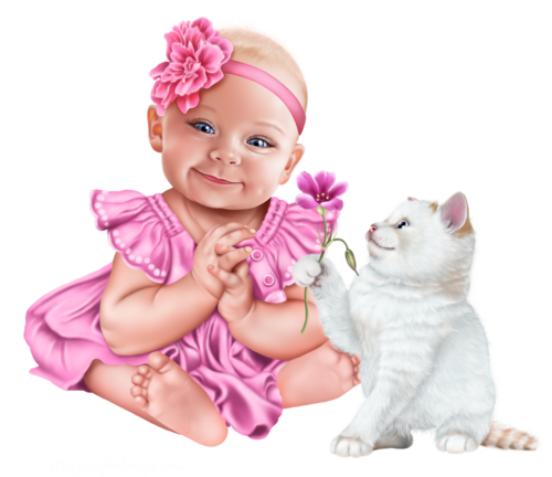 baby-with-a-kitten-png11.png