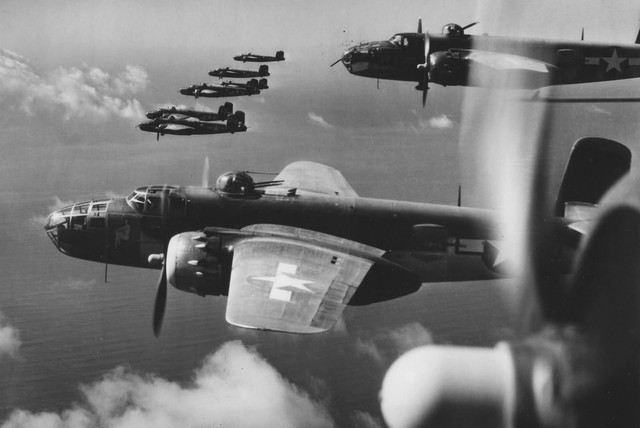 B 25 Mitchell 12 AF Over Italy