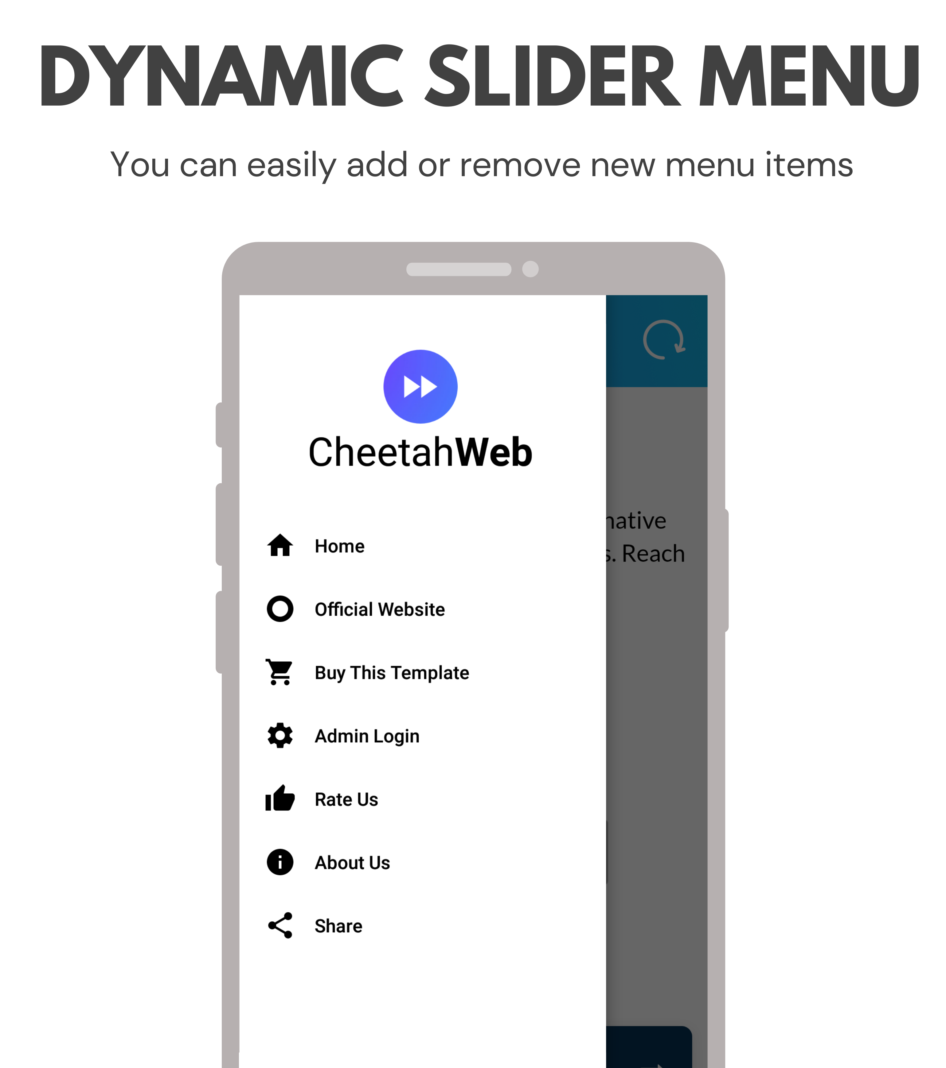 CheetahWeb | Convert your Website to Android App in 10 Minutes | Admin Panel - 7