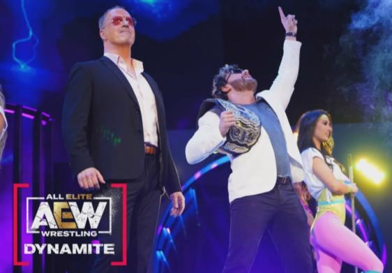 Kenny Omega y Don Callis en AEW