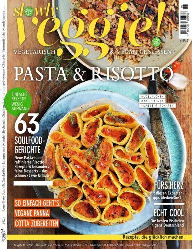 Cover: Slowly Veggie Genussmagazin No 05 2021