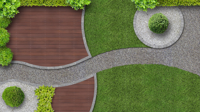 Here is the reason you should have a minimalist garden behind the house