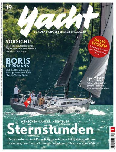 Cover: Yacht Das Segelmagazin No 19 vom 08  September 2021