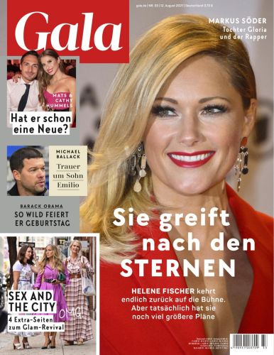 Cover: Gala Magazin No 33 vom 12  August 2021