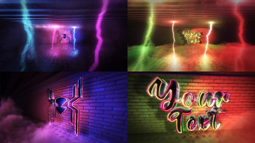 Super Neon Logo 29662971 - Project for After Effects (Videohive)