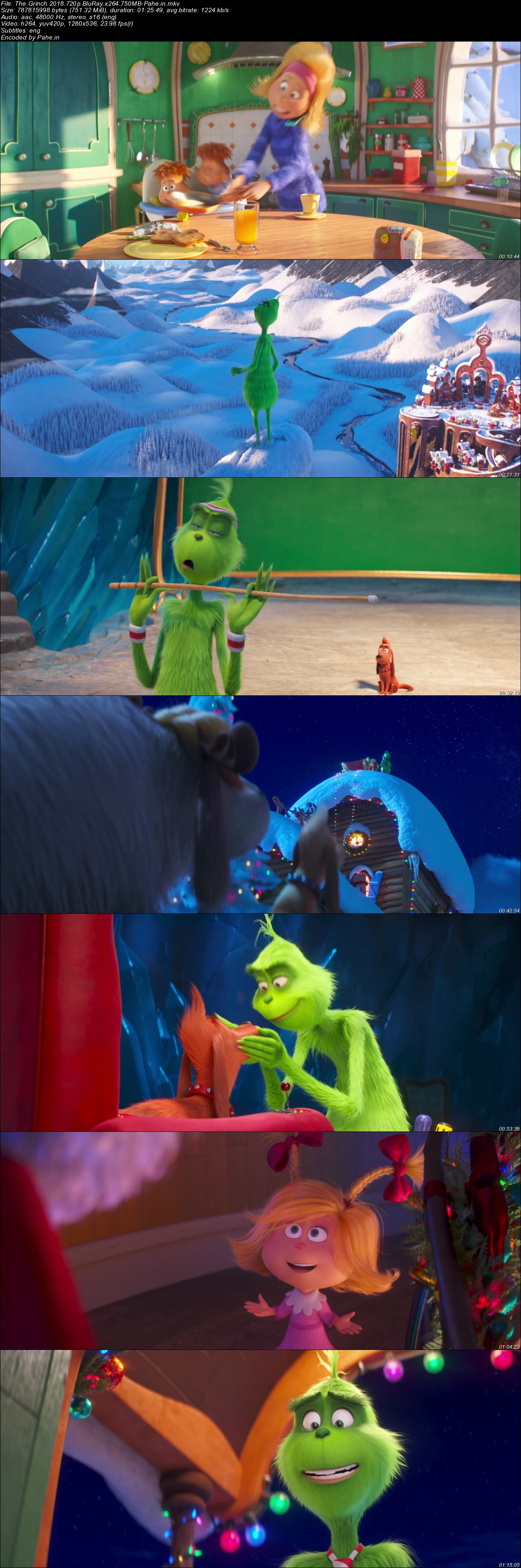 The Grinch (2018) BluRay 480p & 720p - Pahe in