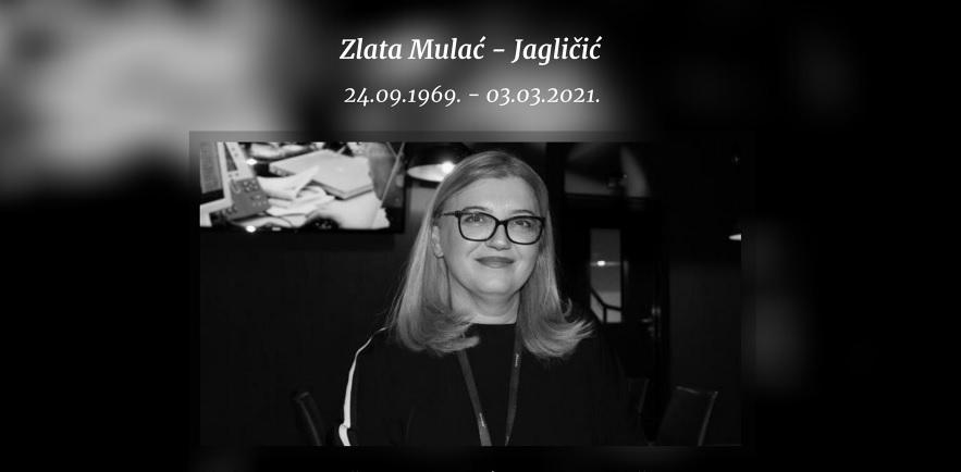 Preminula direktorica kompanije 'Bisnode BH' Zlata Mulać-Jagličić