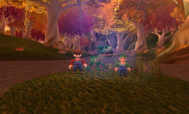 """Sybellita y Carlitos """"Nintendo en Warcraft"""""""
