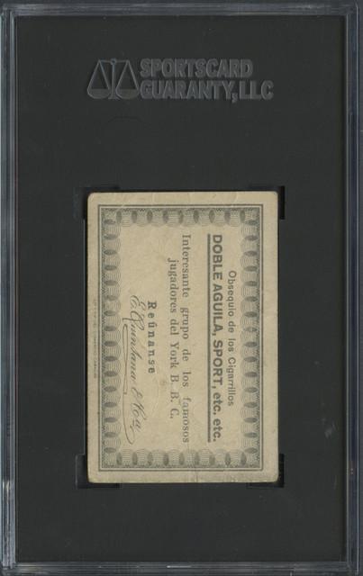 1931 Doble Aguila - Jugadores Del York