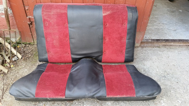 Old back seat