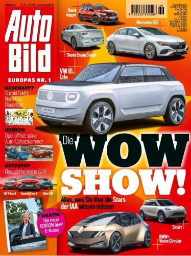 Cover: Auto Bild Magazin No 36 vom 09  September 2021