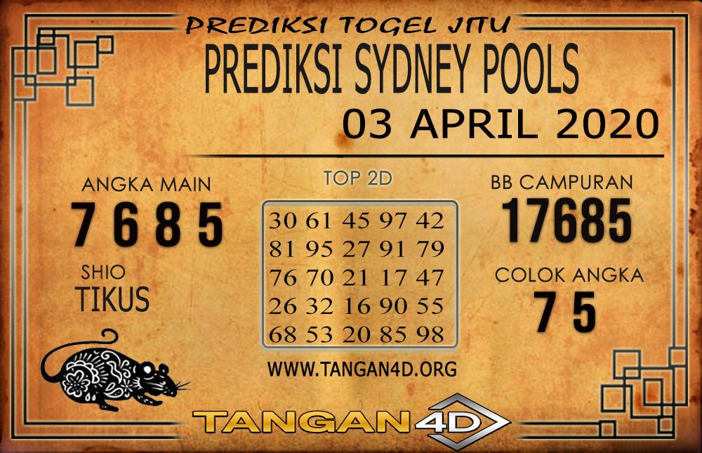 PREDIKSI TOGEL SYDNEY TANGAN4D 03 ARIL 2020