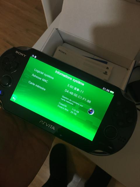 [Vendu] PS Vita Wifi enso sd2vita 128Go en boîte 80€ 91-C7-D8-F6-6-EE7-4501-AEE5-630-BB6-D0-DA81