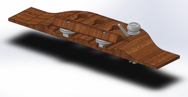 Yama-Bass-Bridge-Assy-v10-0-Single-Saddle-1-Medium