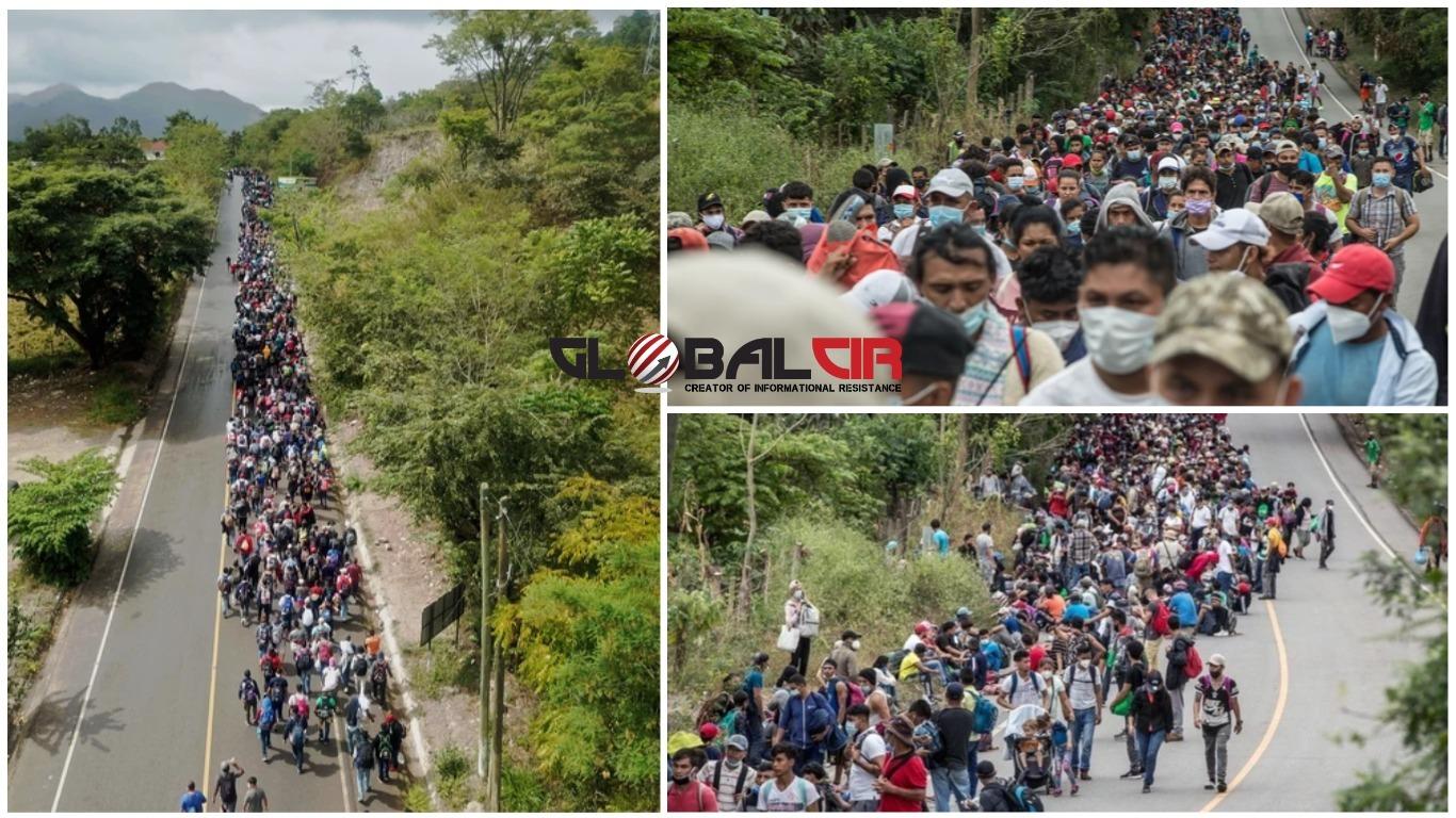 (FOTO) UOČI BAJDENOVE INAUGURACIJE ZA PREDSJEDNIKA SAD-a: Hiljade migranata iz Hondurasa krenulo ka SAD-u u nadi da će naići na blagonaklonost nove američke administracije!