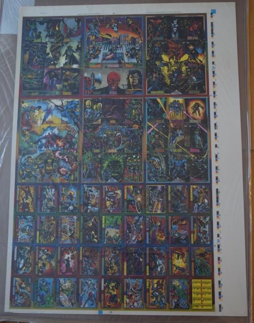 Marvel-Universe-Series-IV-1993-Uncut-Sheets-3