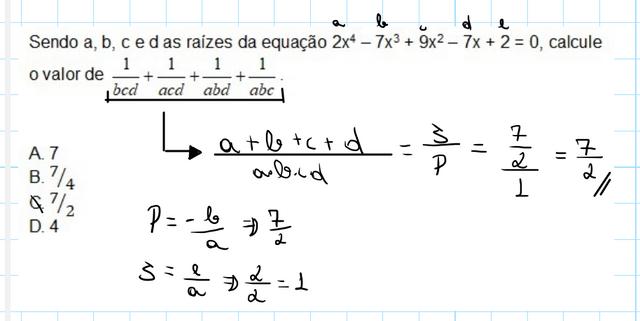 Equações algébricas / função polinomial Image