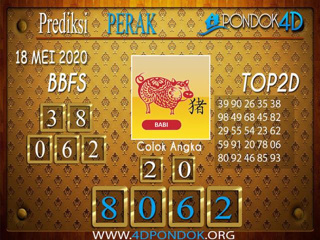 Prediksi Togel PERAK PONDOK4D 18 MEI 2020