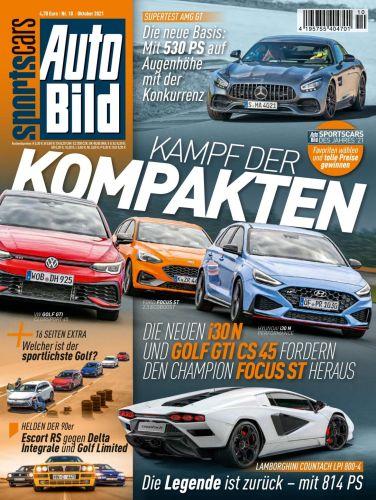 Cover: Auto Bild Sportscars Magazin No 10 2021