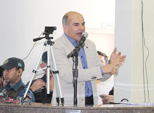 Vereador Andrew Robalinho, líder do prefeito