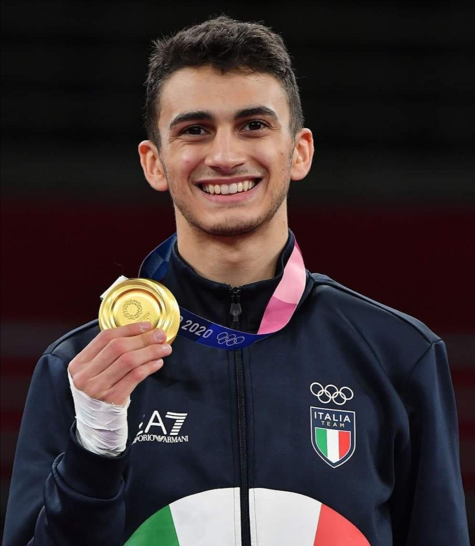 Vito Dell'Aquila, prima medaglia d'oro per l'Italia a Tokyo 2020