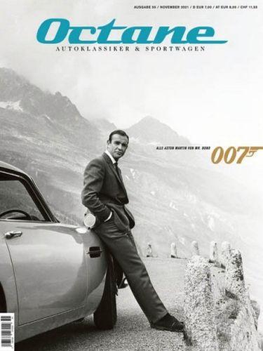 Cover: Octane Magazin Autoklassiker und Sportwagen No 56 November 2021