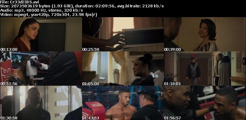 Creed II: La leyenda de Rocky (2018)[BR-Screener][Castellano MiC][Drama][VS]