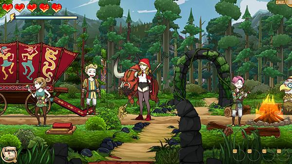 Scarlet Hood and the Wicked Wood 延期至4月8日 Scarlet-Hood-02-03-21