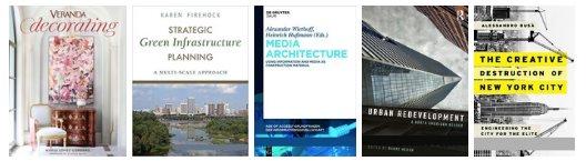 5 Architecture eBooks