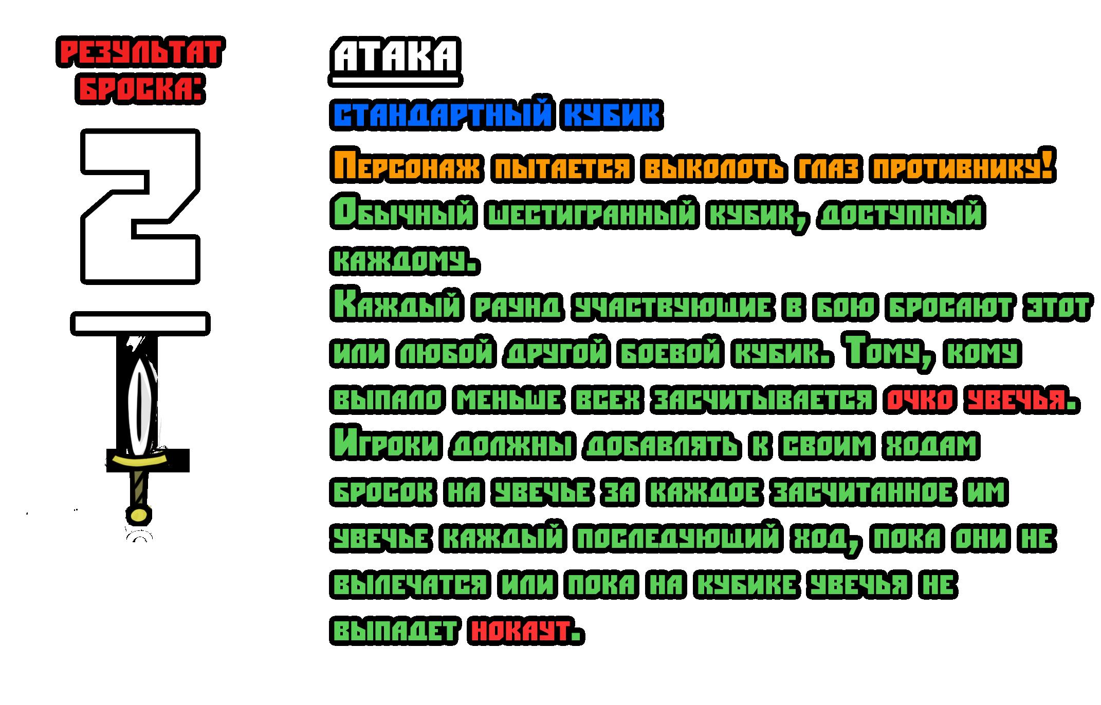 Тест боевой системы 2-2