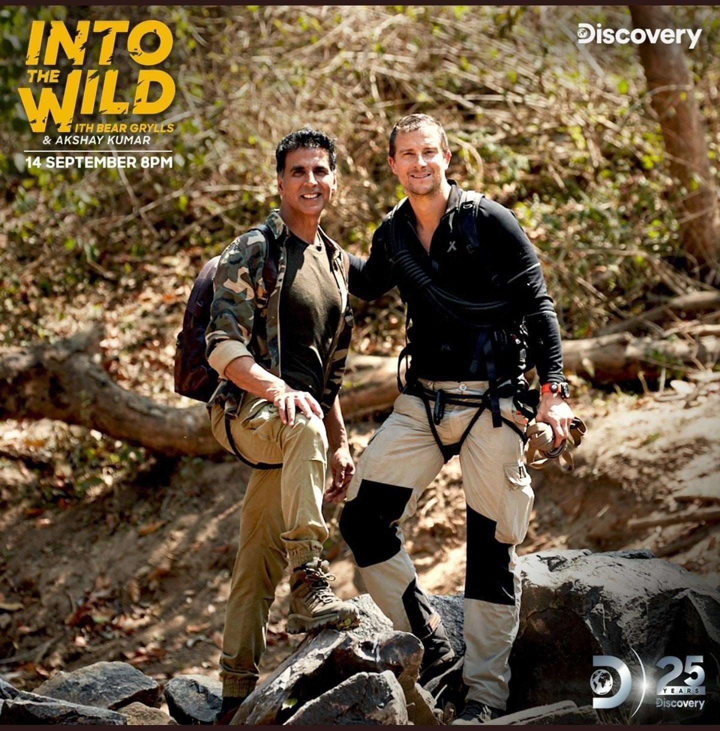 Into The Wild with Bear Grylls & Akshay Kumar (2020) S01E01 Hindi Malti Audio 720p HDRip ESubs 1.6GB | 250MB Download