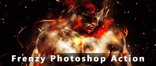 Frenzy Photoshop Action - 24
